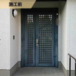 APのリフォーム_ドア02施工前