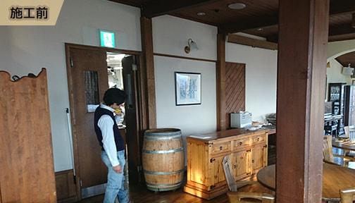 APのリフォーム_店舗のトータルリフォーム_レストラン改修_オープンキッチン化工事01